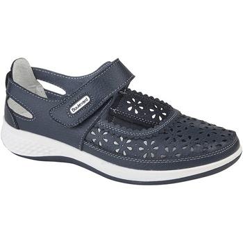 Sapatos Mulher Sapatos Boulevard Wide Fit Marinha