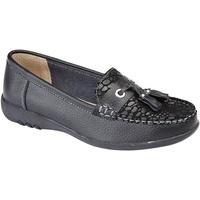 Sapatos Mulher Mocassins Boulevard  Preto