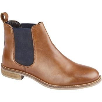 Sapatos Mulher Botas baixas Cipriata  Tan
