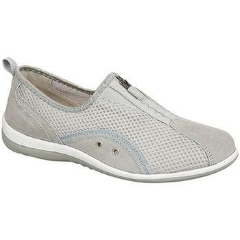 Sapatos Mulher Slip on Boulevard  Cinza