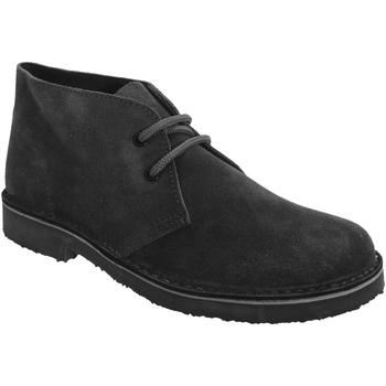 Sapatos Mulher Botas baixas Roamers Round Toe Preto