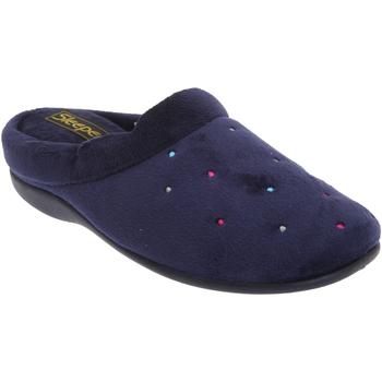 Sapatos Mulher Chinelos Sleepers Charley Marinha