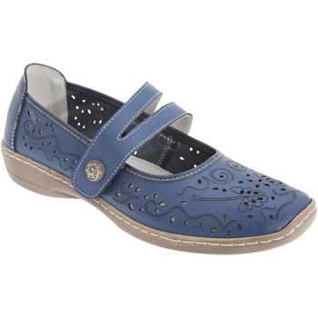 Sapatos Mulher Sapatos & Richelieu Boulevard  Azul