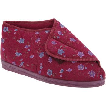 Sapatos Mulher Chinelos Comfylux  Vinho