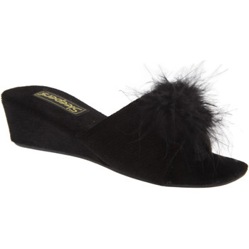 Sapatos Mulher Chinelos Sleepers Rosette Preto