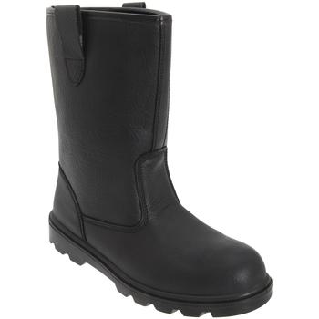 Sapatos Homem Calçado de segurança Grafters  Preto