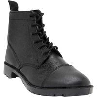 Sapatos Homem Botas Grafters Grain Preto