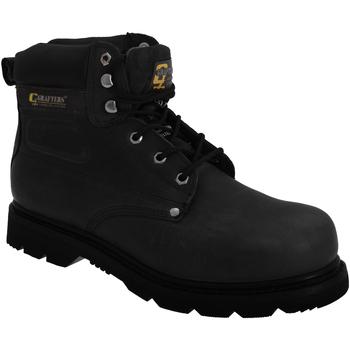 Sapatos Homem Sapato de segurança Grafters  Preto