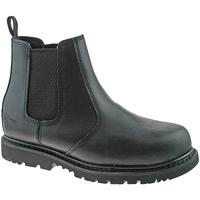 Sapatos Homem Botas baixas Grafters  Preto