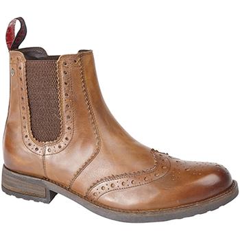 Sapatos Homem Botas Roamers  Tan