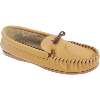 Sapatos Homem Chinelos Mokkers  Tan