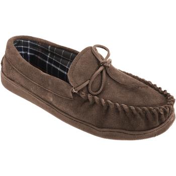 Sapatos Homem Mocassins Sleepers  Brown