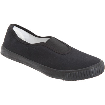 Sapatos Rapaz Slip on Dek  Preto