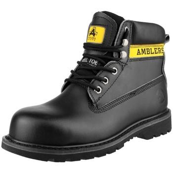 Sapatos Mulher Sapato de segurança Amblers FS9 Preto
