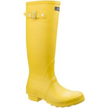 Sapatos Mulher Botas de borracha Cotswold Sandringham Amarelo