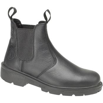 Sapatos Botas baixas Amblers FS116 (BLACK) Preto