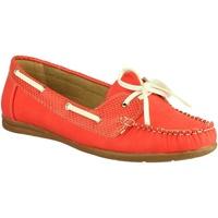 Sapatos Mulher Sapato de vela Divaz BELGRAVIA Vermelho