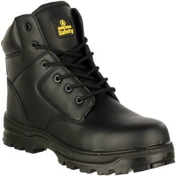 Sapatos Homem Sapato de segurança Amblers 006C S3 WP Preto