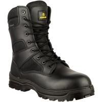 Sapatos Homem Botas baixas Amblers COMBAT WP Preto