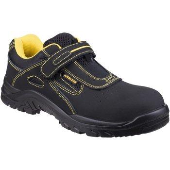 Sapatos Homem Sapato de segurança Amblers 77 S1P Preto