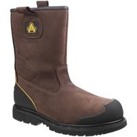 Sapatos Homem Sapato de segurança Amblers 223C S3 WP Brown