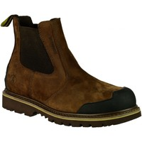 Sapatos Homem Botas baixas Amblers 225 S3 WP Brown