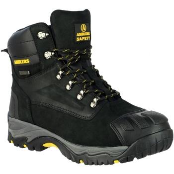 Sapatos Homem Sapato de segurança Amblers 987 S3 WP Preto