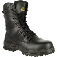 Sapatos Homem Sapato de segurança Amblers 009C S3 Preto