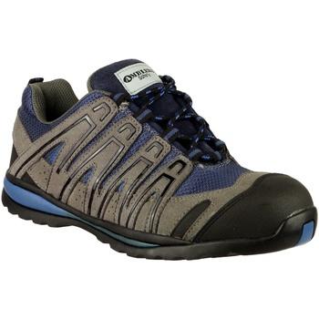 Sapatos Homem Sapatos de caminhada Amblers 34C S1P HRO Azul