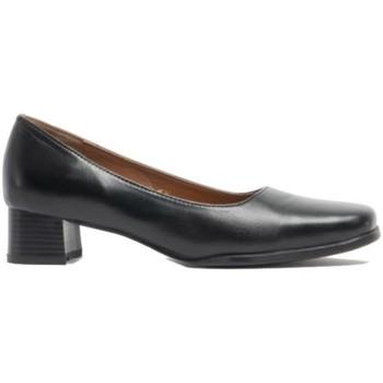 Sapatos Mulher Escarpim Amblers WALFORD SHOE X WIDE (BLACK/NAVY) Preto