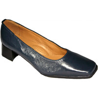Sapatos Mulher Escarpim Amblers WALFORD SHOE X WIDE (BLACK/NAVY) Marinha