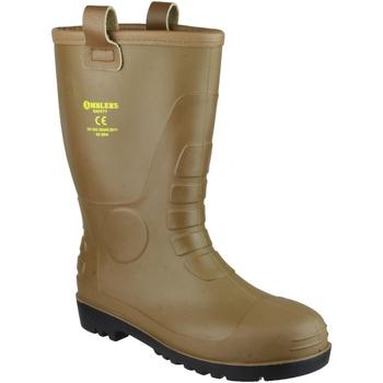 Sapatos Homem Sapato de segurança Footsure 95 TAN PVC RIGGER Tan