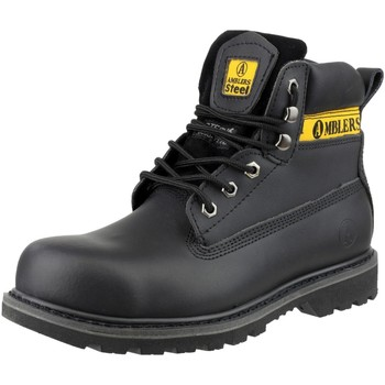 Sapatos Homem Calçado de segurança Amblers FS9 Preto