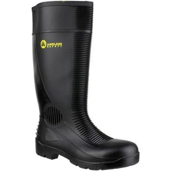 Sapatos Homem Sapato de segurança Amblers FS100 Safety Black Wellingtons Preto