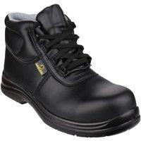 Sapatos Homem Sapato de segurança Amblers FS663 Safety ESD Boots Preto