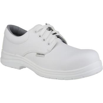 Sapatos Homem Sapatos Amblers FS511 White Safety Shoes Branco