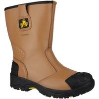 Sapatos Homem Sapato de segurança Amblers FS143 Tan