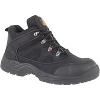 Sapatos Homem Sapato de segurança Amblers FS151 BLACK MID BOOT SB-P Preto