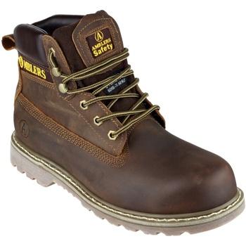 Sapatos Homem Sapato de segurança Amblers FS164 Safety Boots Brown