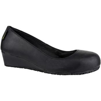 Sapatos Mulher Botas Amblers FS107 SB HEEL Preto