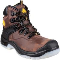 Sapatos Homem Sapato de segurança Amblers FS197 BROWN WATERPROOF S3 BOOT Brown