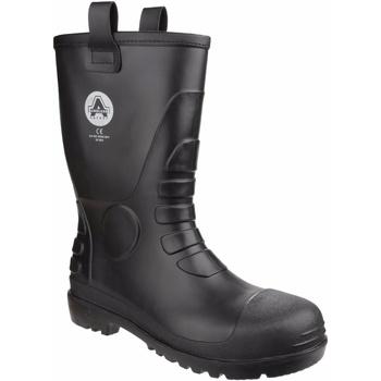 Sapatos Botas de borracha Amblers  Preto