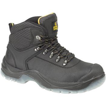 Sapatos Homem Sapato de segurança Amblers FS199 (BLACK) Preto