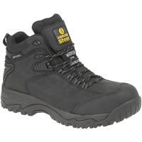 Sapatos Homem Sapato de segurança Amblers FS190 SAFETY Preto