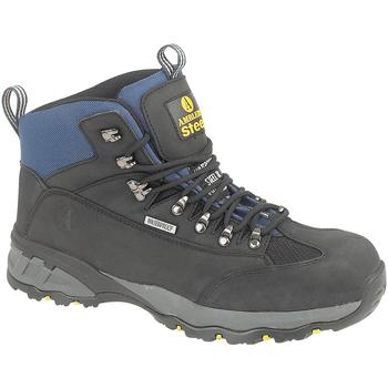 Sapatos Homem Sapato de segurança Amblers FS161 SAFETY Preto