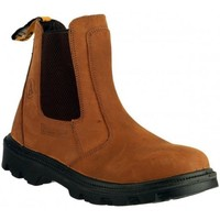 Sapatos Homem Botas baixas Amblers FS131 SAFETY Brown