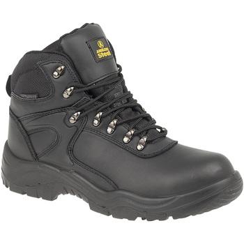Sapatos Homem Sapato de segurança Amblers FS218 Safety Preto