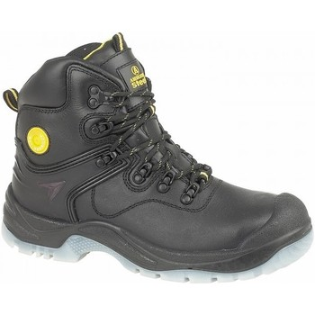 Sapatos Mulher Sapato de segurança Amblers  Preto