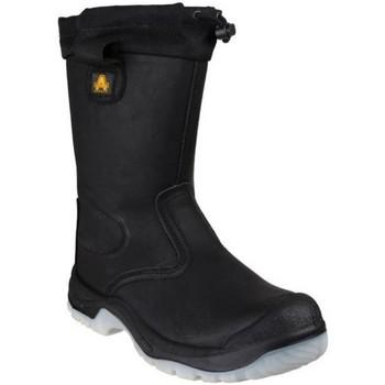 Sapatos Mulher Sapato de segurança Amblers FS209 SAFETY Preto