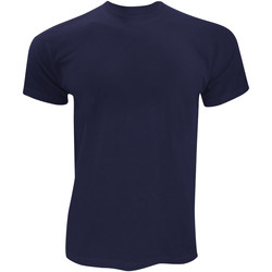 Textil Homem T-Shirt mangas curtas Fruit Of The Loom SS12 Marinha